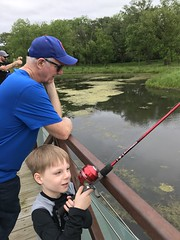"""Paul Fishing with Grandpa Miller • <a style=""""font-size:0.8em;"""" href=""""http://www.flickr.com/photos/109120354@N07/48123002693/"""" target=""""_blank"""">View on Flickr</a>"""