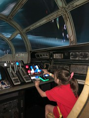 "Millenium Falcon: Smuggler's Run Ride • <a style=""font-size:0.8em;"" href=""http://www.flickr.com/photos/109120354@N07/48123019941/"" target=""_blank"">View on Flickr</a>"
