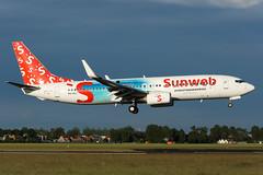 PH-HSJ | B738 | SUNWEB | EHAM (Ashley Stevens images) Tags: amsterdam schiphol airport eham ams canon eos aircraft aeroplane aviation civil airplane phhsj