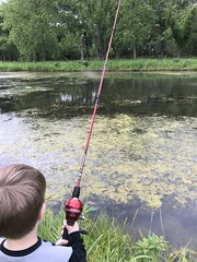 """Paul Fishing with Grandpa Miller • <a style=""""font-size:0.8em;"""" href=""""http://www.flickr.com/photos/109120354@N07/48123068812/"""" target=""""_blank"""">View on Flickr</a>"""