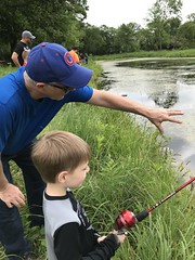 """Paul Fishing with Grandpa Miller • <a style=""""font-size:0.8em;"""" href=""""http://www.flickr.com/photos/109120354@N07/48123069527/"""" target=""""_blank"""">View on Flickr</a>"""
