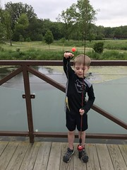"""Paul Catches His First Fish • <a style=""""font-size:0.8em;"""" href=""""http://www.flickr.com/photos/109120354@N07/48123097733/"""" target=""""_blank"""">View on Flickr</a>"""