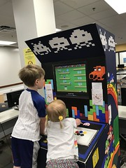 """Dani and Paul Play on the Arcade • <a style=""""font-size:0.8em;"""" href=""""http://www.flickr.com/photos/109120354@N07/48123097767/"""" target=""""_blank"""">View on Flickr</a>"""