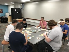 """Student Volunteers Play Evolution • <a style=""""font-size:0.8em;"""" href=""""http://www.flickr.com/photos/109120354@N07/48123102208/"""" target=""""_blank"""">View on Flickr</a>"""