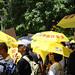 Hong Kong expats rally against China