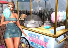 Cotton Candy (alexandra sunny) Tags: avenge labellaboutique it wellmade catwa maitreya aviglam sintiklia landscape blog blogger secondlife fashion female woman blue