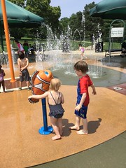 "Loose Park Splash Pad • <a style=""font-size:0.8em;"" href=""http://www.flickr.com/photos/109120354@N07/48123148532/"" target=""_blank"">View on Flickr</a>"