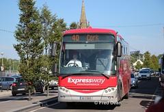 Bus Eireann LC30 (08D51925). (Fred Dean Jnr) Tags: merchantsquaywaterford waterford june2019 buseireannroute40 daf sb4000 vdl berkhof axial lc30 08d51925 buseireann