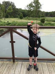 """Paul Catches His First Fish • <a style=""""font-size:0.8em;"""" href=""""http://www.flickr.com/photos/109120354@N07/48123164217/"""" target=""""_blank"""">View on Flickr</a>"""