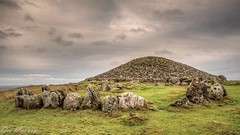 Stone Age Tomb on the Loughcrew Hills (dmoon1) Tags: sonya6500 loughcrewhills megalith tomb