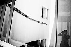 Barcelona (kirstiecat) Tags: selfie shadow shadowselfie architecture espana spain barcelona monochromemonday monochrome blackandwhite noiretblanc self girl female canon catalonia cataluna catalunya elborn