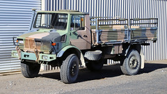 Mercedes UL1700 (Jungle Jack Movements (ferroequinologist) all righ) Tags: wheel by four mercedes benz drive all 4x4 pickup ute daimler unimog bakkie freightliner untility road tractor truck wagon nose prime big hp highway ship power diesel trucker transport engine quad move cargo double semi lorry rig delivery vehicle roll motor interstate trailer tri load freight carry articulated mover deliver freighter horsepower haul bulk axle teamster haulage hgv cabover injected b rumble cabin cab beast driver loud grunt exhaust pattern camo dp disruptive camouflage