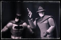Golden Age Ghosts (nightforce72) Tags: batman grayghost dc dccomics acba actionfigures batmantas nikon d5500