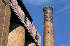 Smokestack Detail (gregador) Tags: broadford decayed abandoned industry distillery smokestack urbex urbanexploring urbanexploration