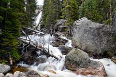 Ouzel Falls - Allenspark, CO[Explored] (Bernie Duhamel) Tags: allenspark rockymountains rockymountainnationalpark wildbasin wilderness indianpeakswilderness frontrange greatphotographers teamsony bernie duhamel sony2470mm sonya7riii