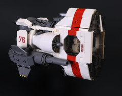 Pegasus Class Anti-Frigate Attack Fighter (Blake Foster) Tags: lego space spaceship moc afol fighter lego:theme=space lego:scale=minifig