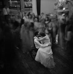 Louis and Gracie (Zeb Andrews) Tags: holga120fn ilforddelta3200 wedding louisandgracie film mediumformat 6x6 portland