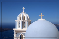 1930 Santorini (matthias.olt) Tags: greece blue bluesky santorini oia matthiasolt sky church cross
