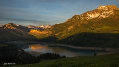 Reflets stories. (Rouvier Jean Pierre) Tags: roselend montagnes beaufortain