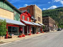 Kellogg, Idaho. Main Street. (Curtis Cronn) Tags: kellogg idaho mainstreet storefronts