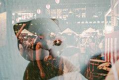 Cats and Festivals (Khronos-dolls) Tags: doll bisquedoll festival multipleexposure