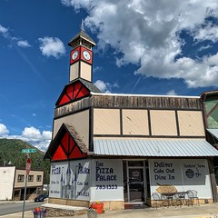 Kellogg, Idaho. The Pizza Palace. (Curtis Cronn) Tags: kellogg idaho pizza palace stores