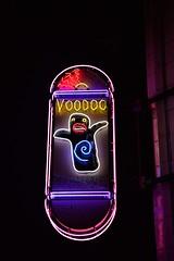 The Voodoo that You Do... (slammerking) Tags: colorado voodoodoughnuts denver broadway neon neonsign night voodoodoll