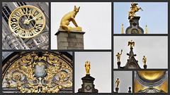 The gold of Antwerp (wilma HW61) Tags: collage photoborder detail details beelden images belgique belgium belgië belgio antwerpen antwerp anvers europa europe outdoor wilmahw61 wilmawesterhoud wow