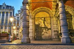 Art Deco Mural in Brussels (Phoenix Konstantin) Tags: sonya7rii sonyilce7rm2 belgium brussels sunset sel2470z variotessar24704za sonyvariotessartfe2470mmf4zaoss zeiss