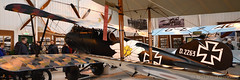 Albatros DVa (Bri_J) Tags: shuttleworthcollection oldwarden bedfordshire uk museum airmuseum aviationmuseum nikon d7500 albatrosdva albatros royalbavarianjasta23b germanarmy wwi biplane fighter