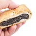 Strudel with Poppy Seeds in the hand
