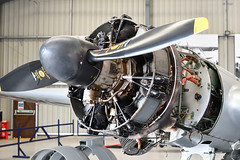 Avro 19 (Anson) Engine (Bri_J) Tags: shuttleworthcollection oldwarden bedfordshire uk museum airmuseum aviationmuseum nikon d7500 avro19 anson engine raf