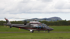 G-HLCM Agusta 109, Scone (wwshack) Tags: a109 agusta egpt psl perth perthkinross perthairport perthshire scone sconeairport scotland solway helicopter ghlcm