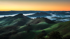 I stand in wonder (Chas56) Tags: ngc canon canon5dmk4 landscape victoria australia sunrise rural hills fog nature range valley