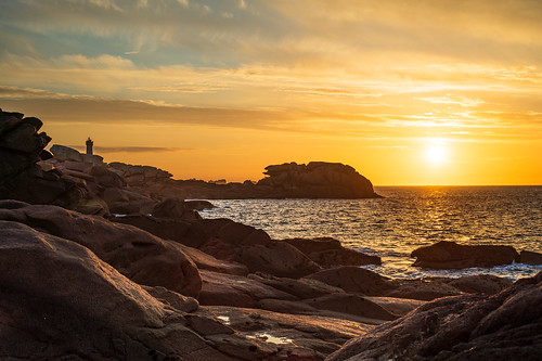 Sunset in Ploumanac'h