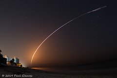 SpaceX Falcon Heavy Showing Off (Glotzsee) Tags: florida indianrivercounty verobeach spacex falconheavy spacelaunch space nasa launch rocket rocketlaunch beach glotzsee glotzseefloridaimages outdoors outside