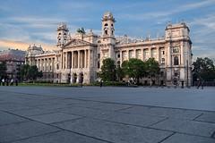 Ethnographic Museum, Budapest, Hungary. (Manoo Mistry) Tags: budapest hungary europe nikond5500 tamron18270mmzoomlens historical listedbuilding museum ethnographicmuseum