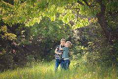 Brothers (nicolewitschass) Tags: borthers boys children child outdoors grass trees nature love connection brüder geschwister siblings natur zusammenhalt liebe kindheit childhood magic nikon d750 70200mm naturallight