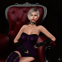 Lillian (Algezares (III)) Tags: wicca ebento ebentotheevent secondlife sexy sensual domina maitreya mesh corset gloves