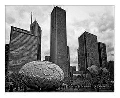 Bean & Buildings (Jean-Louis DUMAS) Tags: architecture architect architecte architectural architecturale bâtiment building reflecting chicago sony art batiment twop noretblanc tower award monochrome noir blanc black white bn bnw nb ngc noiretblanc noirblanc bw blackwhite
