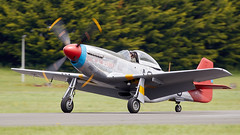 Mustang (Bernie Condon) Tags: dunsfold wingswheels airshow surrey uk aviation aircraft flying display mustang northamerican usaaf military us warplane vintage preserved classic fighter ww2 p51 plane