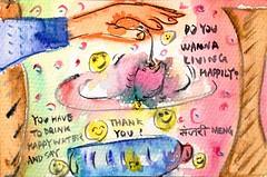 190606 Vibe test (Manjari's Handmade) Tags: vibrational geomancer sacred geometry designer radiesthesia practitioner harmony cleansing props happy water vibe