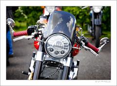 Norton 961 cafe racer (G. Postlethwaite esq.) Tags: 961cc dof derbyshire heage norton unlimitedphotos bokeh caferacer classicbikes depthoffield headlamp motorbike motorcycle photoborder selectivefocus windmill