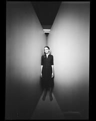 20190609 kelly (thodoris markou) Tags: analog film 6x8 mediumformat zeroimage pinhole portrait model studio ilford hp5 nophotoshop noritsuhs1800 irvingpenncorner