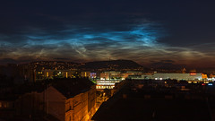 Noctilucent clouds over Budapest (Behind Budapest) Tags: 2019 365project 70d budapest canon hhh harmashatarhegy hungary magyarorszag terezvaros city cityscape cloudporn clouds colours nature night nightphotography nyar outdoor outside sky skyline summer termeszet town urban noctilucent noctilucentcloud noctilucentclouds 250v10f
