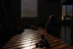In the shadow ... (Le.Patou) Tags: challenge crazytuesday shadows fz1000 ombre contrejour contraste bébé volet été canicule fraîcheur shadow backlight contrast baby shutter summer heat heatwave freshness