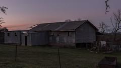 D75_9828 (crispiks) Tags: huon hill wodonga north east victoria nikon d750 2470 f28 sunset old farm building shed