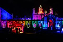 Cambridge May Balls: St John's (Sir Cam @camdiary) Tags: cambridge camdiary cambridgeuniversity stjohnscollege night architecture mayball 2019