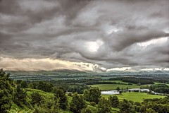 Cloudmaker (vincocamm) Tags: landscape edenvalley cumbria misty clouds moody lake hills mountains green grey trees wideview d5500 nikon