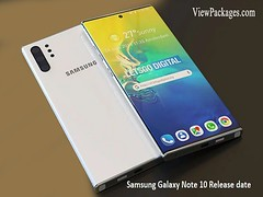 Samsung Galaxy Note 10 Release date (aliharis6625) Tags: samsung galaxy note10 price news viewpackages